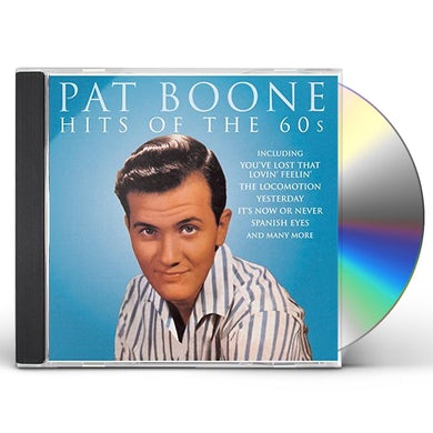 Pat Boone HITS OF THE 60'S CD