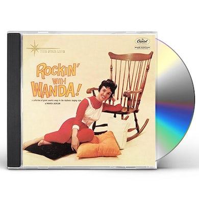 Wanda Jackson ROCKIN' WITH WANDA CD