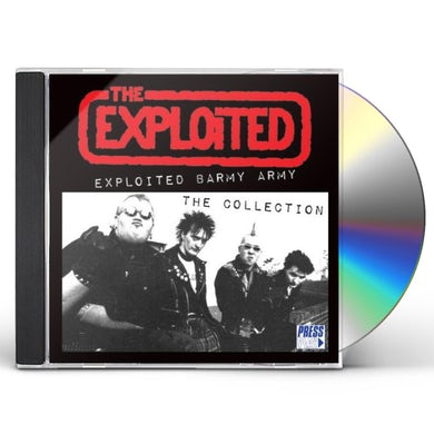 The Exploited BARMY ARMY CD