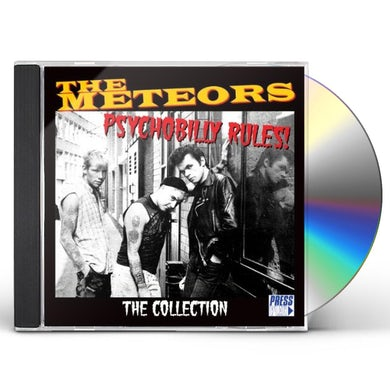 The Meteors PSYCHOBILLY RULES CD