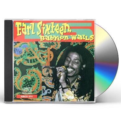 Earl Sixteen BABYLON WALLS CD