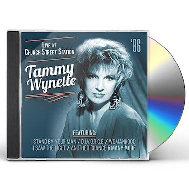 Tammy Wynette LIVE AT CHURCH STREET STATION CD