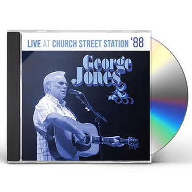 George Jones LIVE AT CHURCH STREET STATION CD