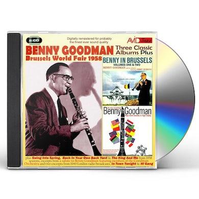 Benny Goodman BENNY IN BRUSSELS 1 & 2 / PLAYS CD