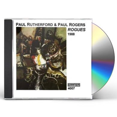 Paul Rutherford ROGUES 1988 CD