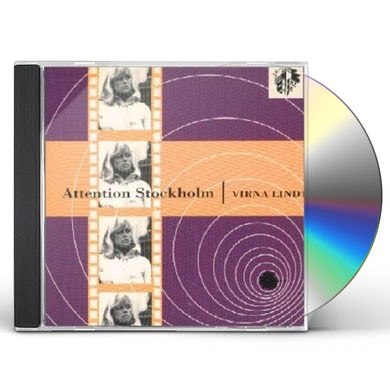 Virna Lindt ATTENTION STOCKHOLM CD