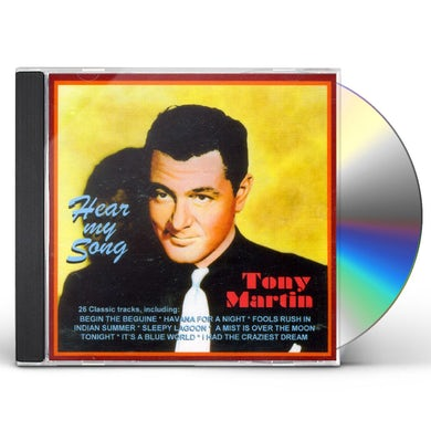 Tony Martin HEAR MY SONG CD