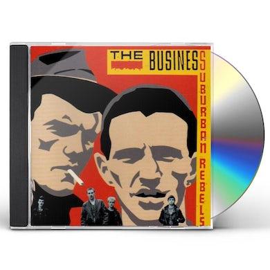 The Business SUBURBAN REBELS CD