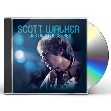 Scott Walker LIVE ON AIR 1968-1969 CD