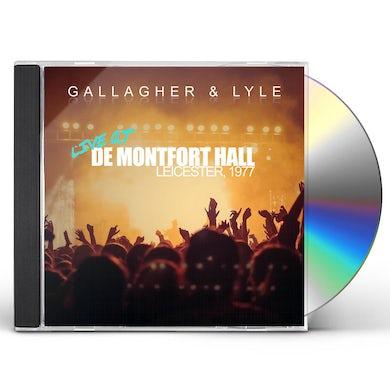 Gallagher & Lyle LIVE AT DE MONTFORT HALL LEICESTER 1977 CD