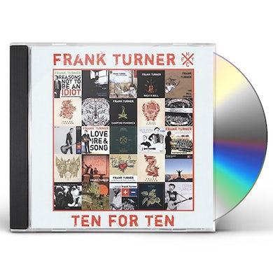 Frank Turner TEN FOR TEN CD