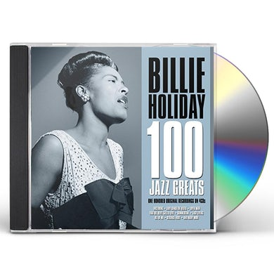 Billie Holiday 100 JAZZ GREATS CD