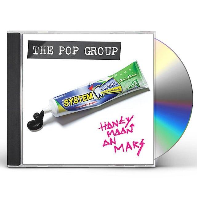 The Pop Group HONEYMOON ON MARS CD