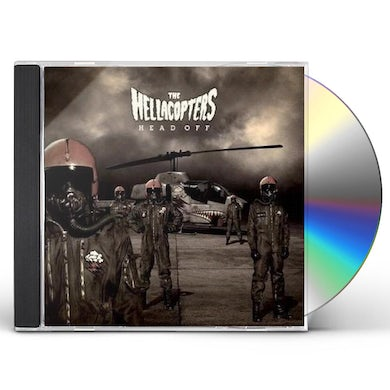 Hellacopters HEAD OFF CD