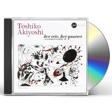 Toshiko Akiyoshi HER TRIO HER QUARTET-RECORDINGS FROM 1956-58 CD