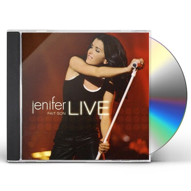 Jenifer FAIT SON LIVE CD