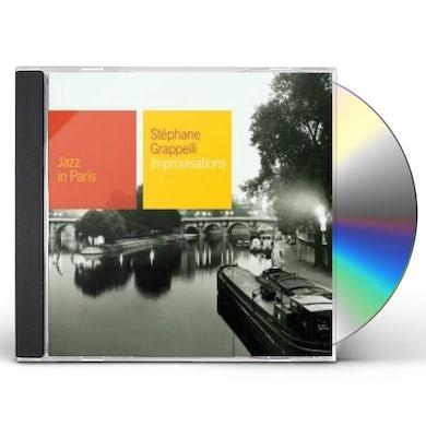 Stephane Grappelli IMPROVISATIONS CD