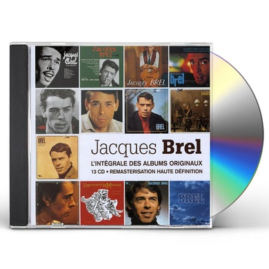 Jacques Brel L'INTEGRALE DES ALBUMS STUDIO CD