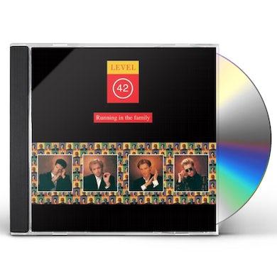Level 42 RUNNING IN THE FAMILY CD