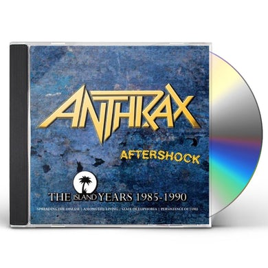 Anthrax AFTERSHOCK: ISLAND YEARS CD