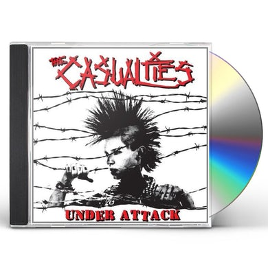 The Casualties UNDER ATTACK CD