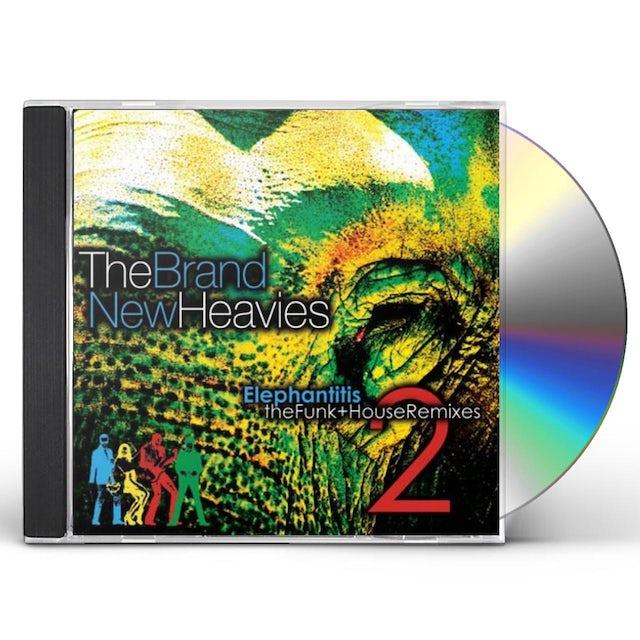 Brand New Heavies ELEPHANTITIS: THE FUNK HOUSE REMIXES 2 CD