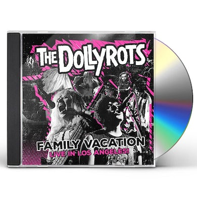Dollyrots FAMILY VACATION: LIVE IN LOS ANGELES CD