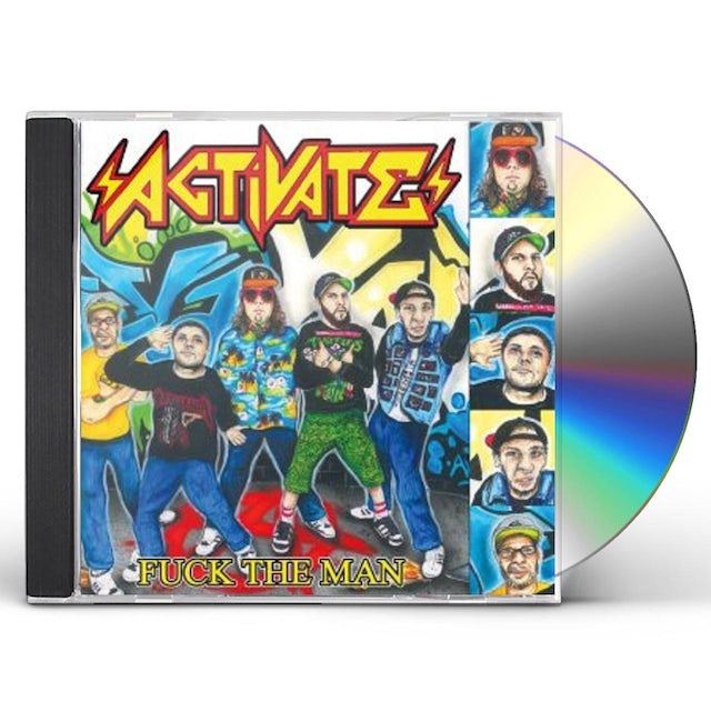 Activate FUCK THE MAN CD