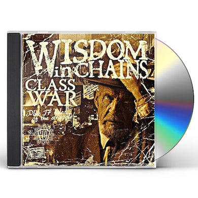 Wisdom In Chains CLASS WAR (BONUS EDITION) CD
