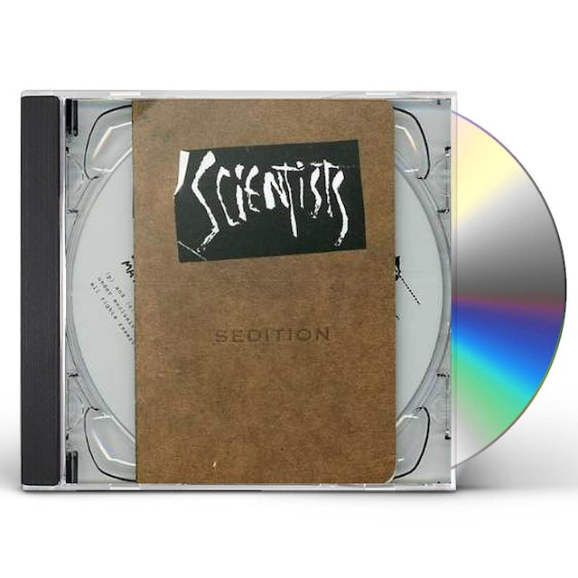 The Scientists SEDITION CD
