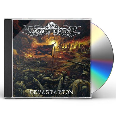 Serpent Obscene DEVESTATION CD