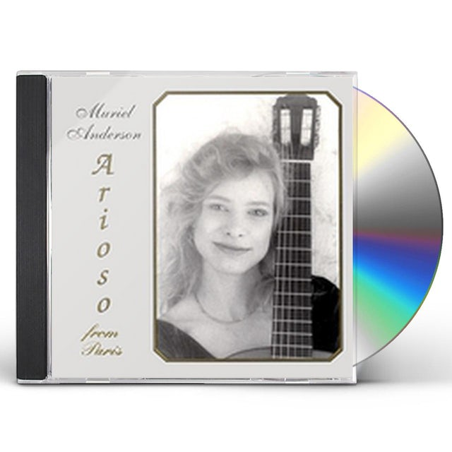 Muriel Anderson ARIOSO FROM PARIS CD