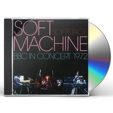 Soft Machine SOFT STAGE: BBC IN CONCERT 1972 CD