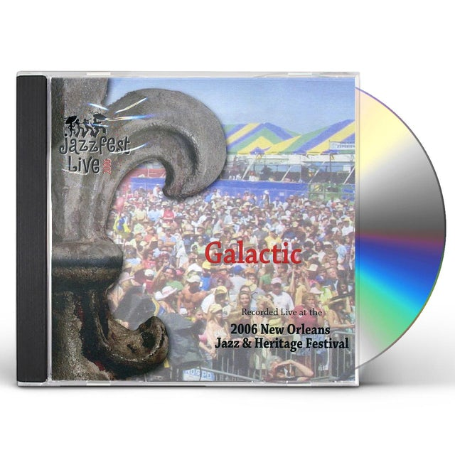 Galactic LIVE AT JAZZ FEST 2006 CD