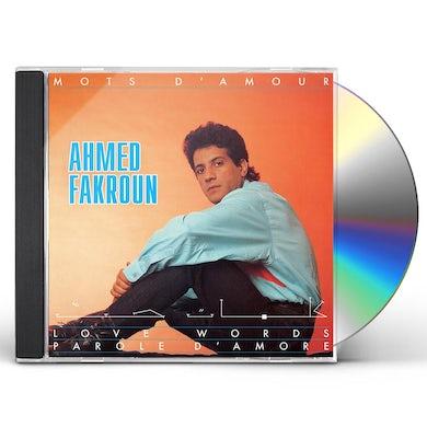 MOTS D'AMOUR CD