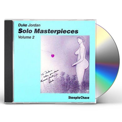 Duke Jordan SOLO MASTER PIECES 2 CD