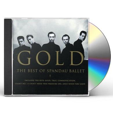 GOLD: BEST OF SPANDAU BALLET CD
