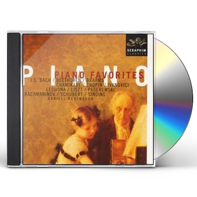 Daniell Revenaugh PIANO FAVORITES CD