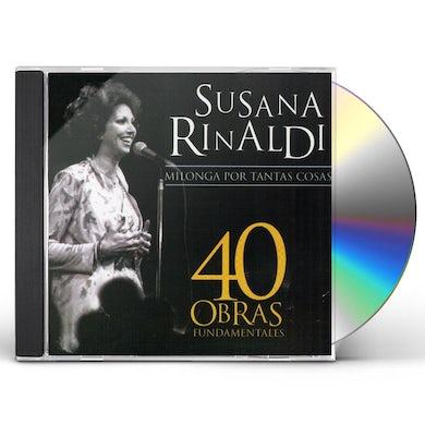 Susana Rinaldi 40 OBRAS FUNDAMENTALES CD