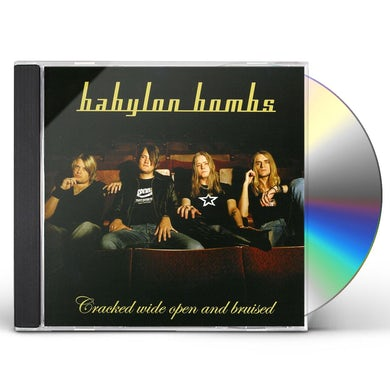 Babylon Bombs CRACKED WIDE OPEN CD