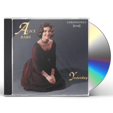 Alice Babs YESTERDAY CD