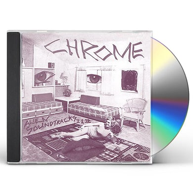 Chrome ALIEN SOUNDTRACKS I & II CD
