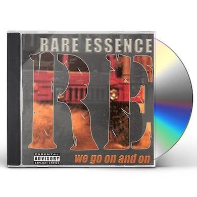 Rare Essence WE GO ON & ON CD