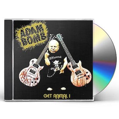 Adam Bomb GET ANIMAL 1 CD