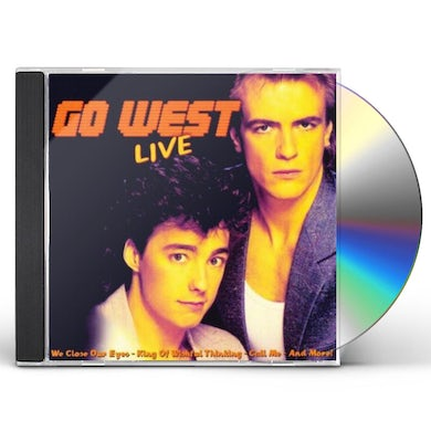 Go West LIVE CD
