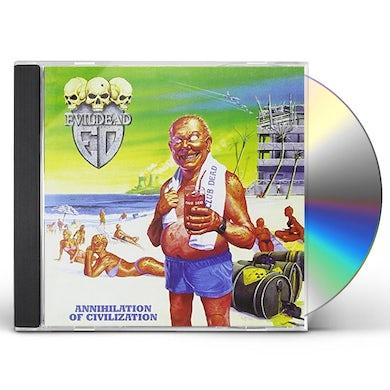 Evildead ANNIHILATION OF CIVILIZATION CD