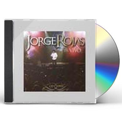 Jorge Rojas EN VIVO CD