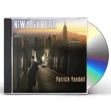 Patrick Yandall NEW YORK BLUES CD