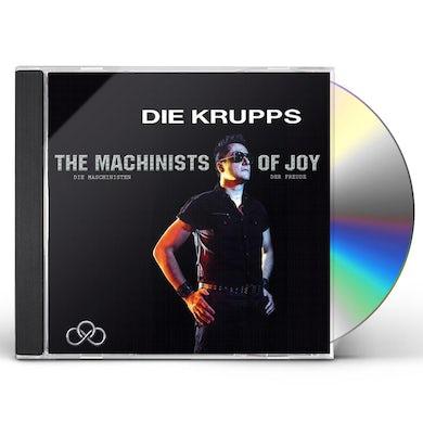 Die Krupps MACHINISTS OF JOY CD