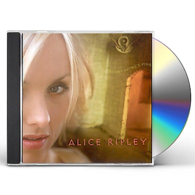 Alice Ripley EVERYTHING'S FINE CD